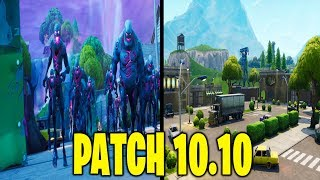 NEW UPDATE PATCH 10.10 FORTNITE LIVE ITA COURSE TRADE OF NEW GAME!