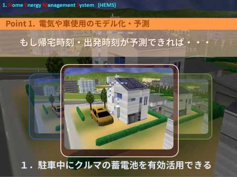 Nagoya University Suzuki Lab 2014 - Energy Management Systems Part1 of 3 HEMS