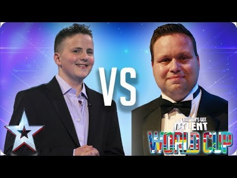 Andrew Johnston vs Paul Potts | Britain's Got Talent World Cup 2018