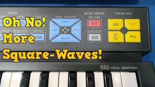 Oh No! More Square Waves!  Yamaha PSS 125