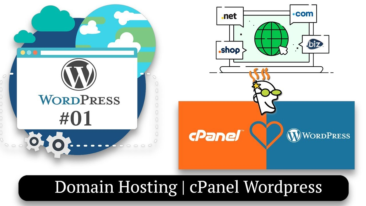 How to Install Wordpress | Domain Hosting Setup