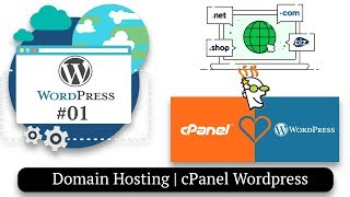 How to Install Wordpress | Domain Hosting Setup | How to Make a Website #01