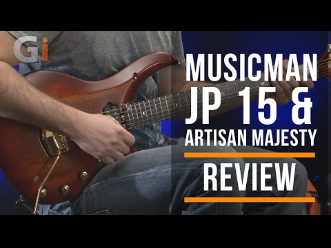 Music Man John Petrucci JP15 & Artisan Majesty Guitar Review | Guitar Interactive Magazine