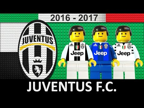 Juventus 2016/17 • lego football film 2017 • serie a • tim cup • champions league