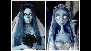 Труп невесты  MakeUp transformation Make Up Tutorial  Tim Burton's Corpse Bride 