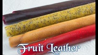 Como Hacer Cuero (Piel) De Frutas \Fruit Leather