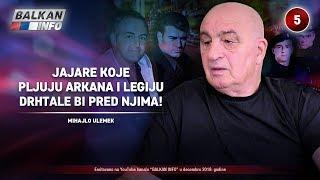 INTERVJU: Mihajlo Ulemek - Jajare koje pljuju Arkana i Legiju bi drhtale pred njima! (7.12.2019)