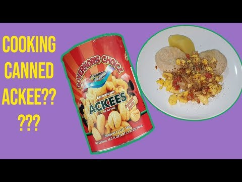 Cooking Canned Ackee And Saltfish
