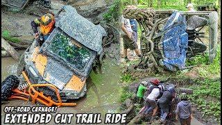 Extreme Off-Roading Adventure! Feature Length Trail Ride - SXS/UTV/ATV/MOTO #TeamAJP Trail Vlog 013