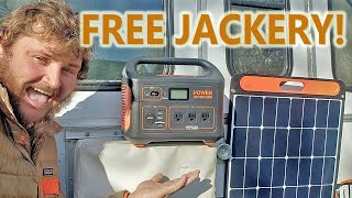 WIN A JACKERY 500 POWER STATION & 100W SOLAR PANEL! FREE ENTRY GIVEAWAY - $900 VALUE