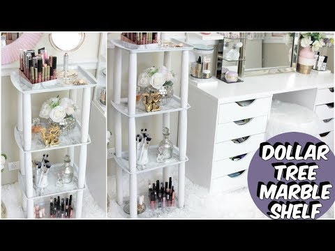 DIY BOOKSHELF USING DOLLAR TREE KITCHEN SUPPLIES