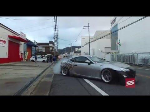 V-8 86 Street Hooning in Japan