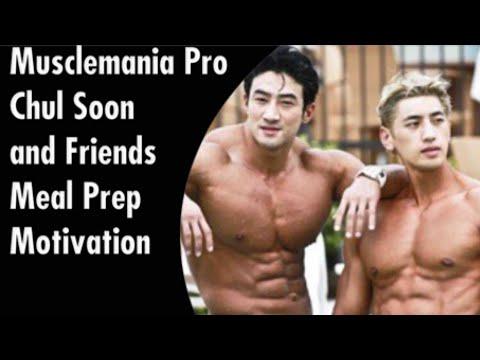 Musclemania Pro Chul Soon and Friends Meal Prep Motivation
