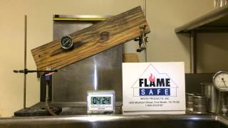 Exterior Fire Retardant Treated Wood Part 1 1-800-333-9197 Flame Safe