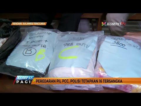 Peredaran Pil PCC, Polisi Sudah Tetapkan 16 Tersangka
