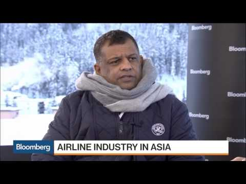 WEF2017: AirAsia Expects to Get Binding Bids for Leasing Unit by March