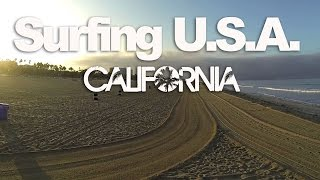 TEASER Surfing USA : CALIFORNIA - LuzuVlogs