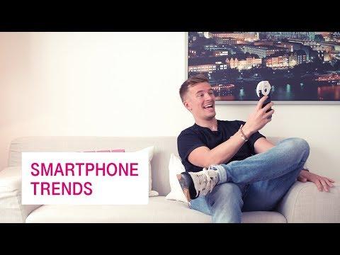 Social Media Post: Smartphone Trends - Netzgeschichten