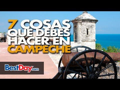 7 Cosas que debes hacer en Campeche