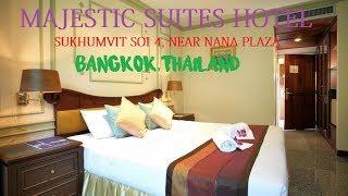 CHEAP HOTEL IN BANGKOK NEAR SUKHUMVIT SOI 4 | MAJESTIC SUITE HOTEL ROOM REVIEW