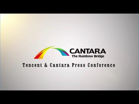 Tencent & Cantara Global Press Conference 2015
