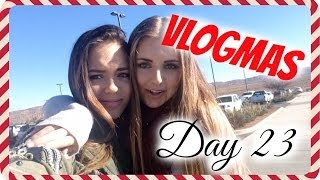 VLOGMAS DAY 23❄ Coming back homeeee