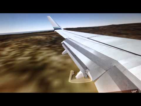 Fsx Alaska airlines landing in Anguilla