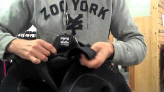 Billabong Furnace Carbon Zipperless Boa Winter Wetsuit Review 2016