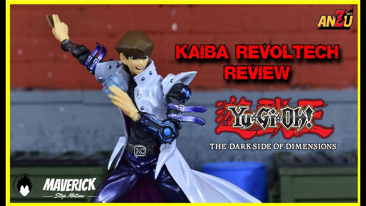 SETO KAIBA THE DARK SIDE OF DIMENSIONS   Yu-Gi-Oh REVO  VULCANLOG REVOLTECH   UNBOXING   EN ESPAÑOL