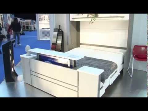 Salon du meuble nice fran ois desile youtube - Lit avec television escamotable ...