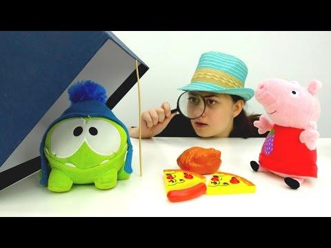 Игрушечная Свинка Пеппа мягкая игрушка свинка Пеппа игрушки видео toys video