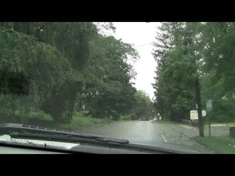 Ivoryton CT Hurricane Irene Footage