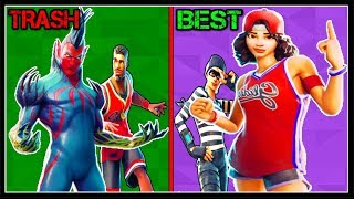 RANKING EVERY *NEW LEAKED* SKINS + ITEMS FROM WORST TO BEST! (Fortnite!)