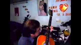 Dừng bước giang hồ & Biển nhớ - Guitar - Võ Mạnh Hùng singer
