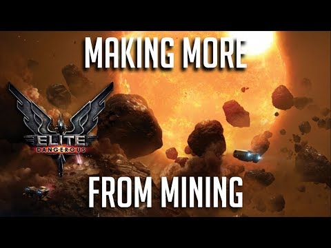 MAKING MORE FROM MINING | MISTAKES WERE MADE | Elite Dangerous Chapter 4 Mining | Update 3.3