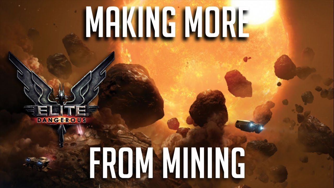 MAKING MORE FROM MINING | MISTAKES WERE MADE | Elite Dangerous Chapter 4  Mining | Update 3 3