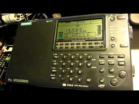 Radio IRIB Teheran Iran 15085 khz Siemens RK 777