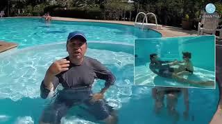 Обучение плаванию с помощью веселых глупостей