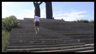 Бег вверх по лестнице - кардиотренировка