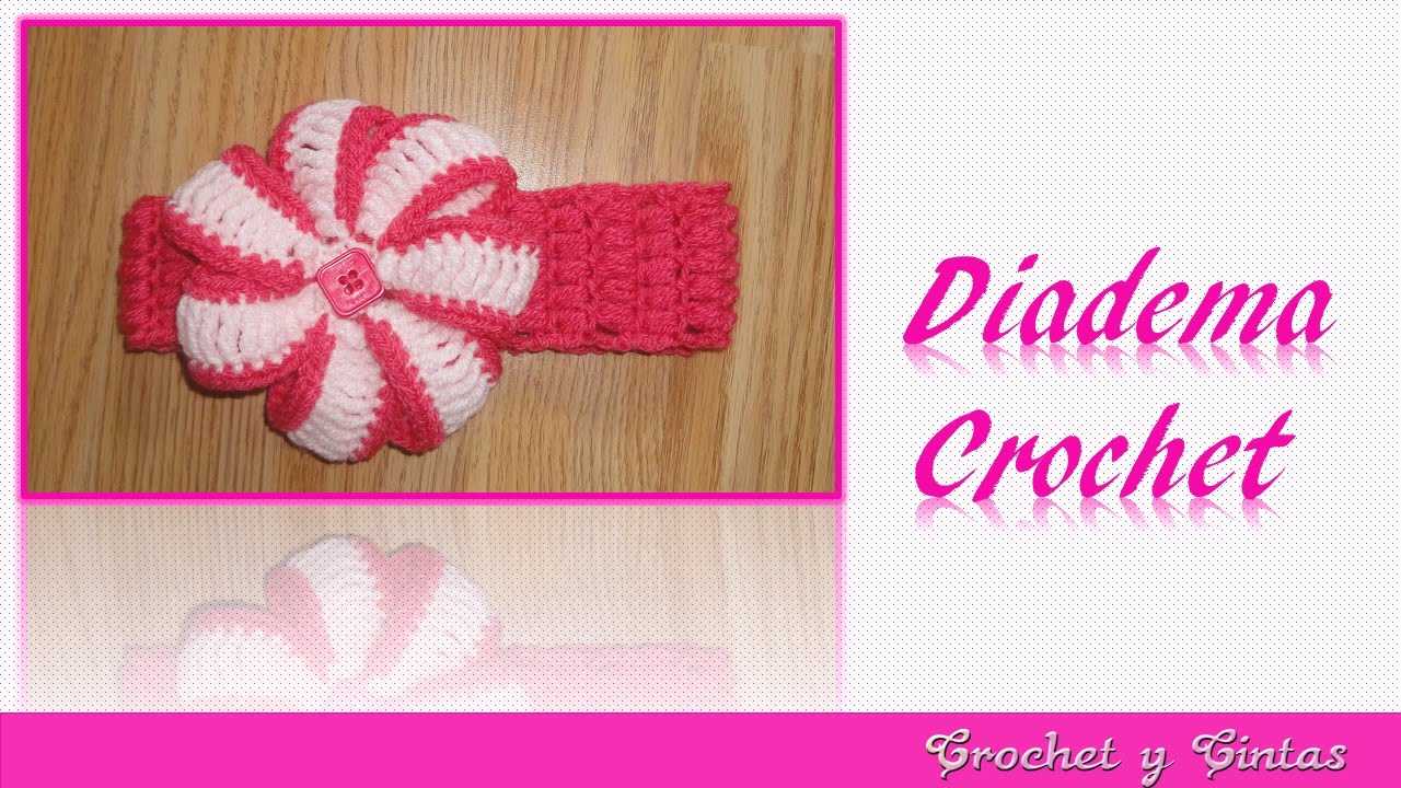 DIY Diadema punto puff tejida a crochet – ganchillo - YouTube