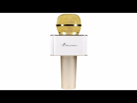 Wireless Bluetooth Karaoke Microphone Review and Demo - Besteker