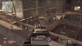COD MW2 Team Deathmatch - Unstoppable Camping on Highrise!