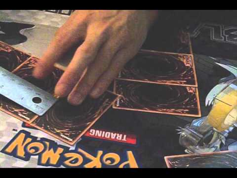 How To Make YGO DeckBox out of YGO cards (Part 1)