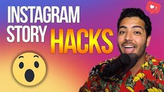 INSTAGRAM STORY HACKS 2019 (IG TIPS AND TRICKS)