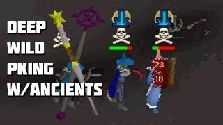Runescape 2007 - Deep Wild PKing w/Ancients! - Framed