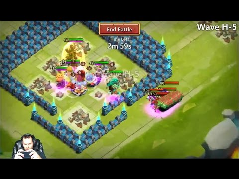 JT'S Free 2 Play NEW BASE + 6th Hero HBM How Far CAN I GO Castle Clash