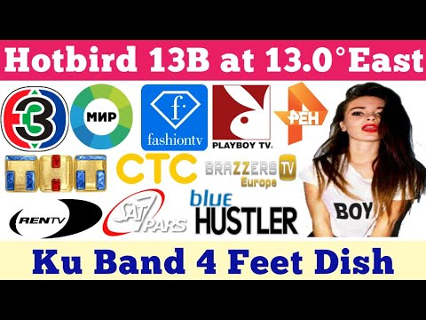Hotbird 13B At 13.0°East Full Channel List & Dish Setting