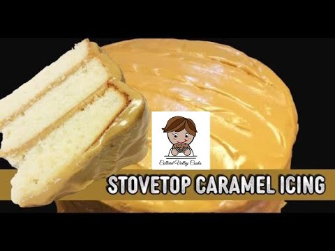 Old Fashioned Caramel Icing, Mama's Southern Stove Top Caramel Icing