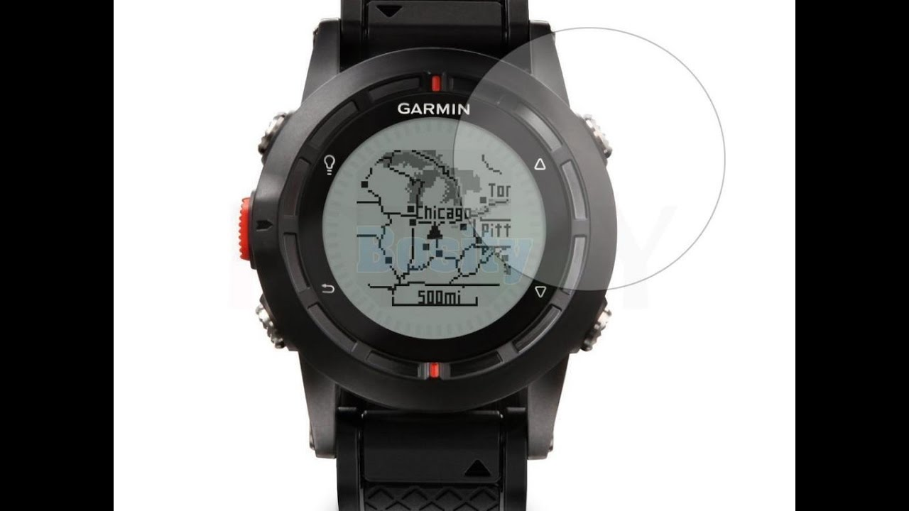 09f3ade9b71c Распаковка. Защитная пленка на экран часов GARMIN FENIX 3 - YouTube