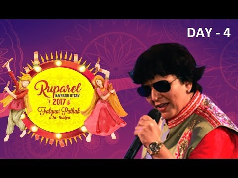 Ruparel Navratri Utsav with Falguni Pathak 2017 - Day 4